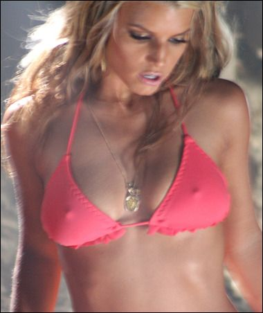 Jessica Simpson Bikini Dukes Of Hazzard