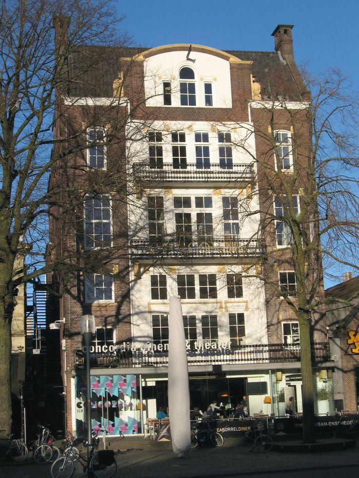 Concordia op de Oude Markt in Enschede