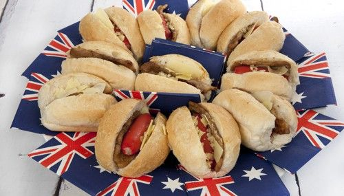 Aussie Dogs for Australia Day  Simple & Delicious Happy Australia Day everyone!