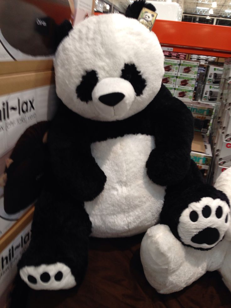 Giant Stuffed Panda!!