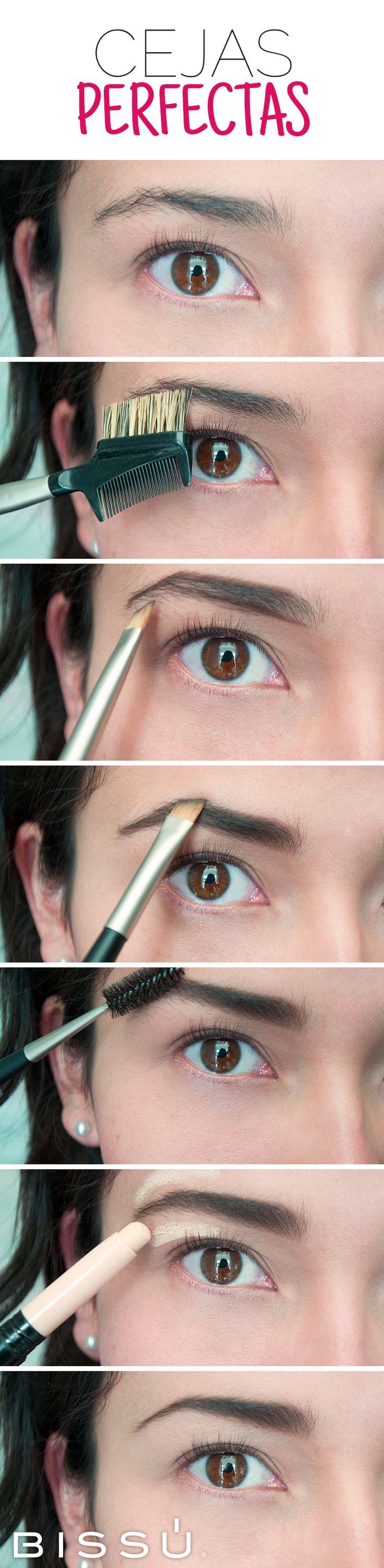 Las cejas son el marco de tu rostro, mantenlas perfectas con esta guía.