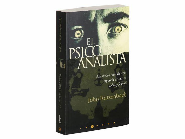 El psicoanalista, sinceramente me encanto este libro, si pueden chequenlo :)