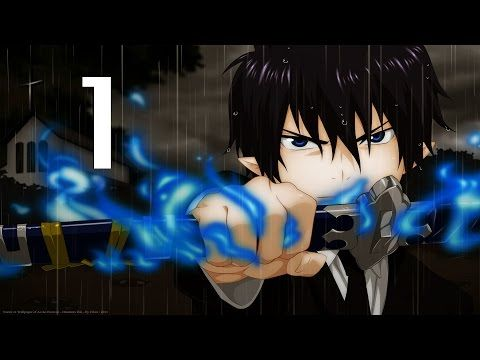 Blue Exorcist Episode 1 English Dubbed - YouTube