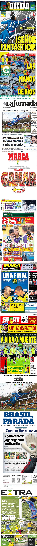 Ochoa acapara las portadas de los diarios