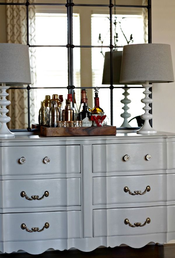 Furniture Update with Amy Howard One Step Paint in Luxe Grey