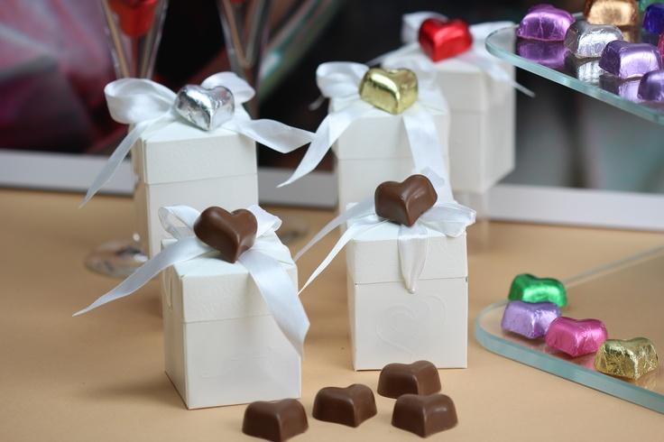 A white wedding with chocolate  www.choc.com.au