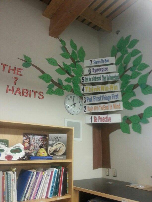 7 habits tree 7 habits pinterest for 7 habits decorations