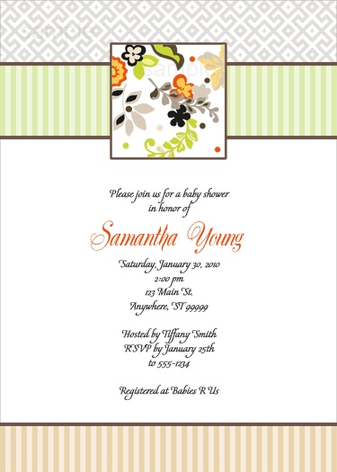 best baby showers by kimbellished images on   baby, Baby shower invitation