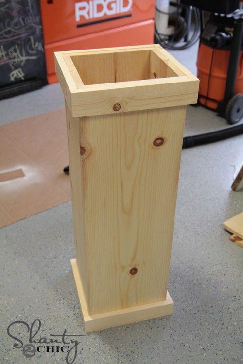 How to build a plant stand