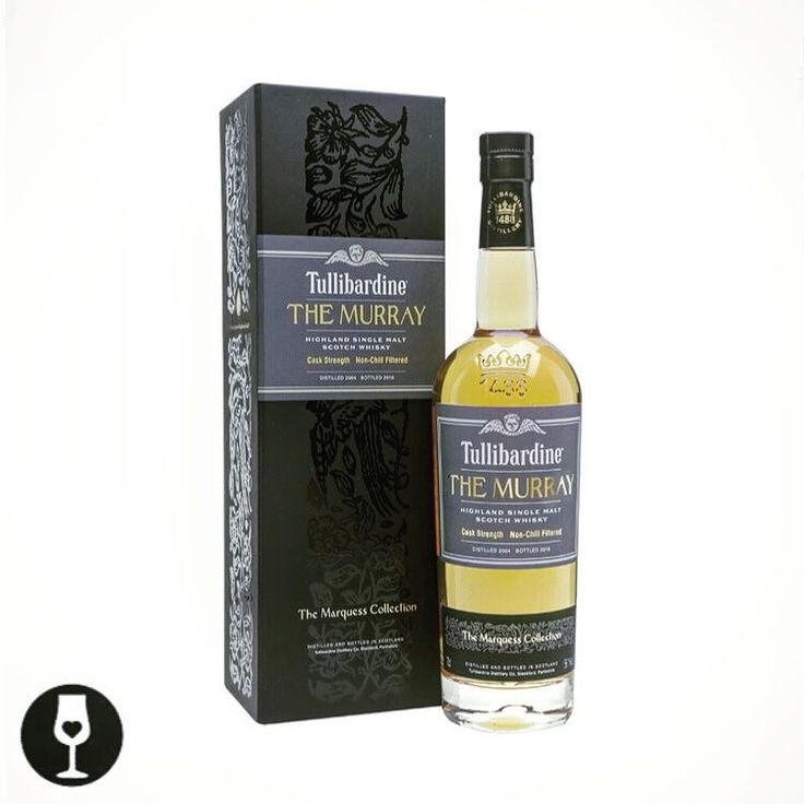 """""""The Murray Edition is a 2004 whisky from Tullibardine as part of the Marquess Collection. Aged in first-fill bourbon barrels for at least 11 years this cask-strength whisky has notes of citrus fruit vanilla malt and pepper."""" Follow us. See MALTLOVE.COM"""