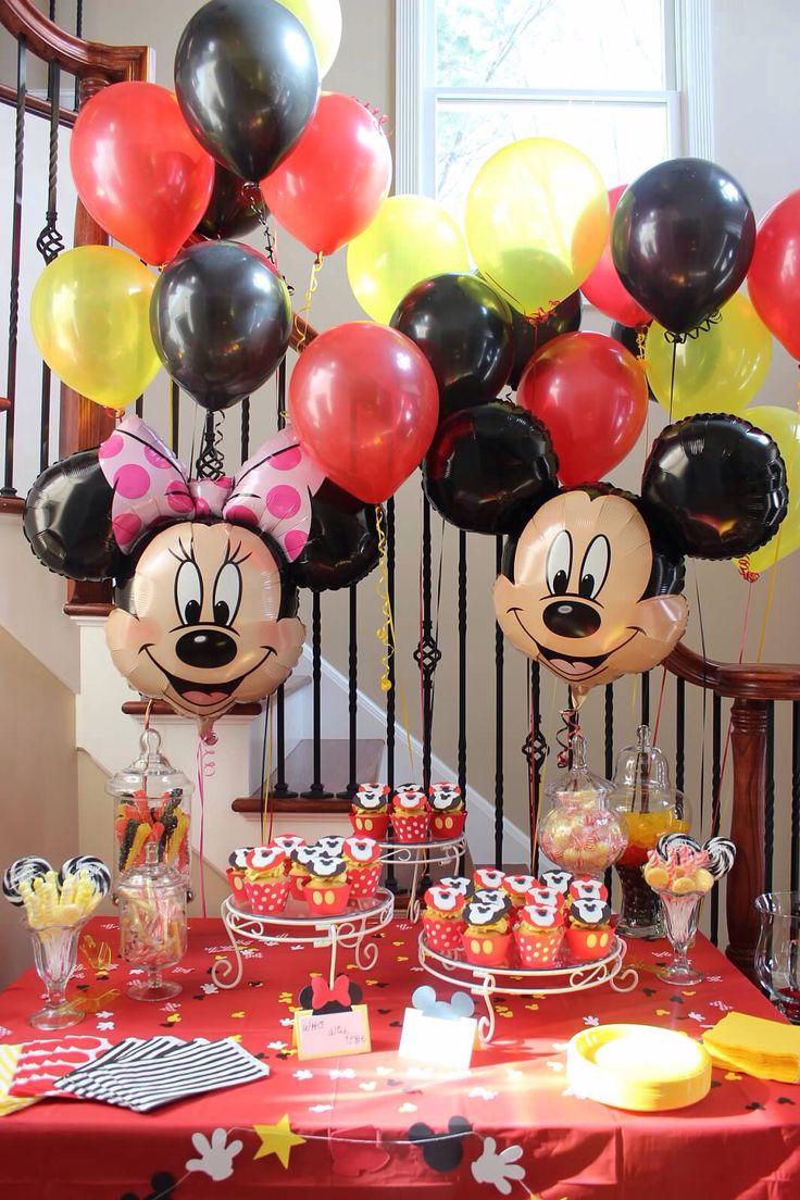 Mickey minnie Disney gender reveal party