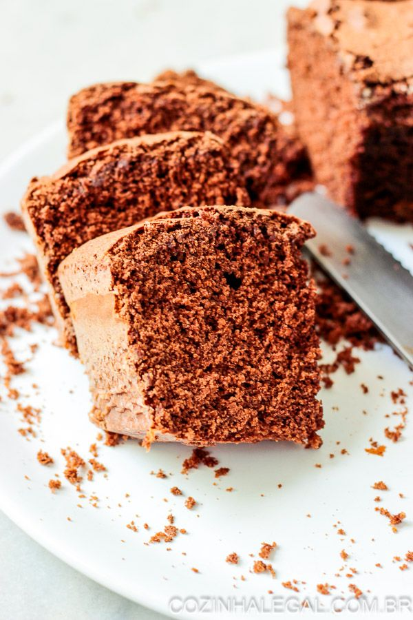 Bolo De Chocolate Facil E Rapido Receita Bolo De Chocolate