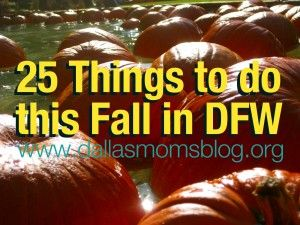 family friendly fall activities dallas