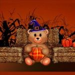 Teddy Bear Happy Halloween Live Wallpaper for Android