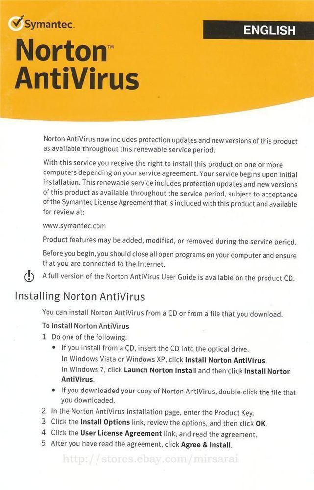 norton antivirus 2014 product key  for 1 year