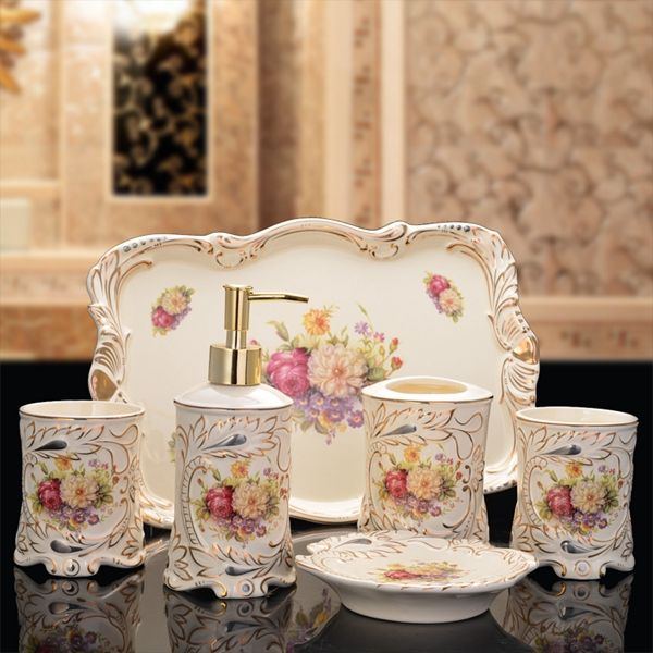 find more bathroom accessories sets information about new bathroom set ceramic bathroom suite five sets