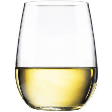 Libbey 17-oz. Stemless White Wine Glasses, Set of 8 - Walmart.com