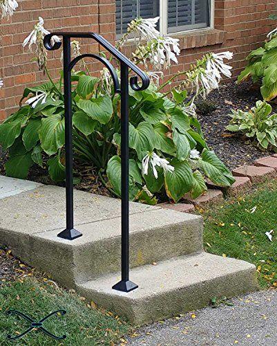 Best Iron X Handrail Arch 1 Fits 1 Or 2 Steps Iron X Handrail 400 x 300
