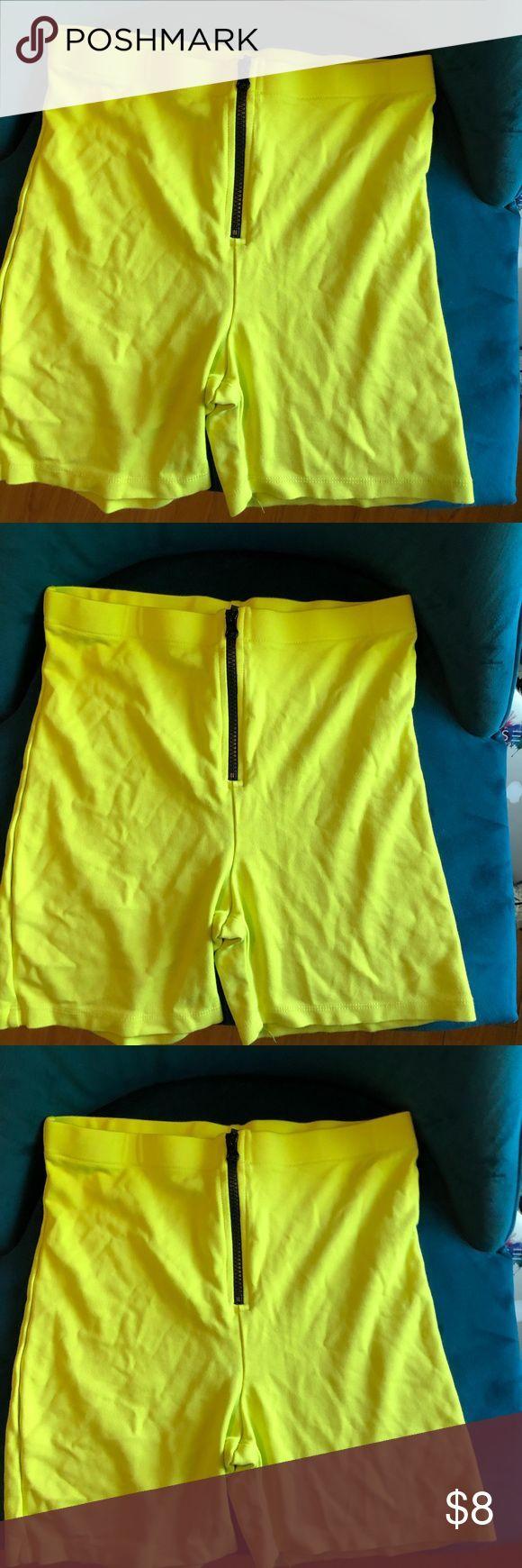 Neon yellow biker shorts. Never used neon biker shorts. wild fable Shorts   – Biker shorts