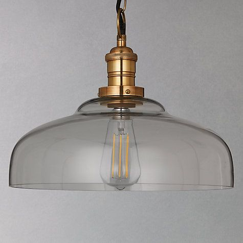 Buy John Lewis Croft Collection Clyde Glass Pendant Ceiling Light Online at johnlewis.com