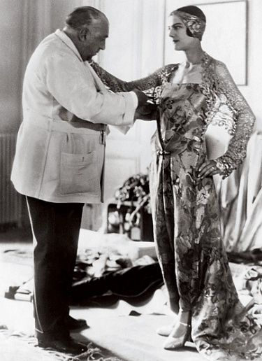 "Paul Poiret is a French designer who ""freed the bosom, shackled the legs, but gave liberty to the body"" with his corset-less designs with narrow hems."