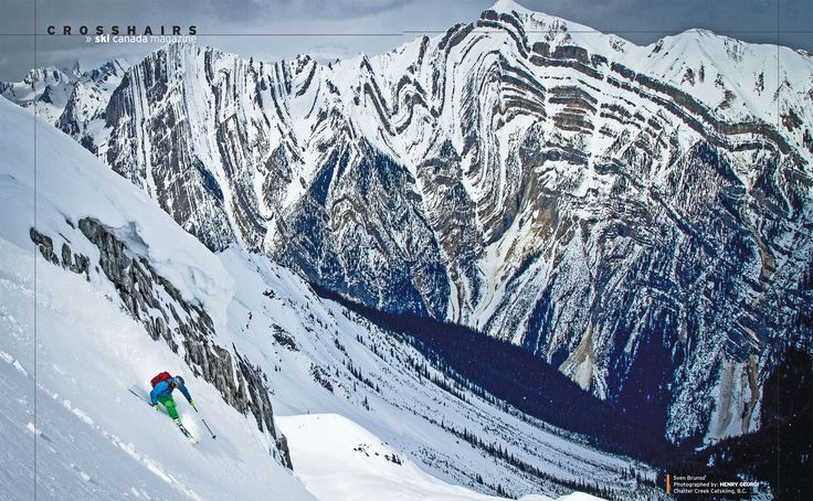photo: HENRY GEORGI * skier: Sven Brunso * snow: Chatter Creek Catskiing, BC