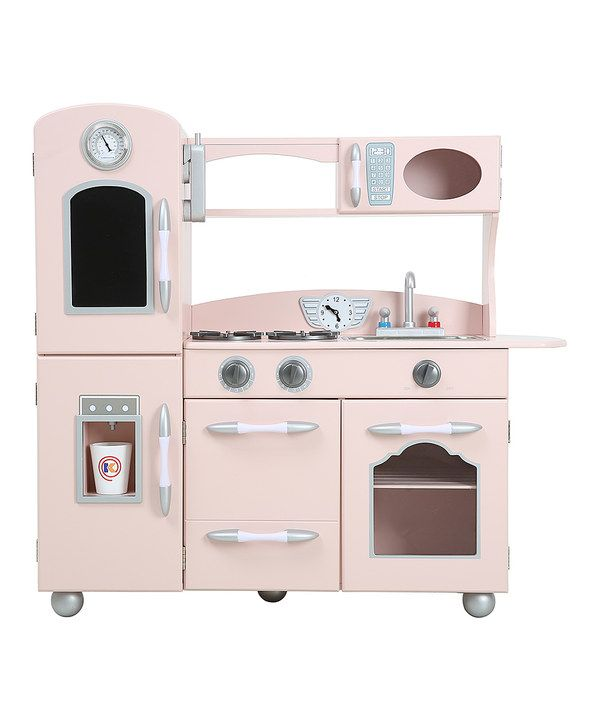 Look at this Pink Play Kitchen on #zulily today!