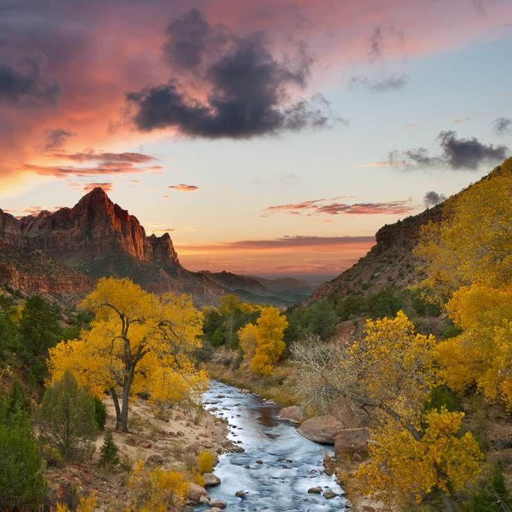 Zion National Park, Utah, South West USA