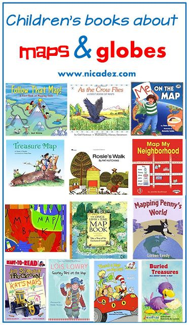 Read Alouds for Teaching Map Skills to Kindergarten Kids
