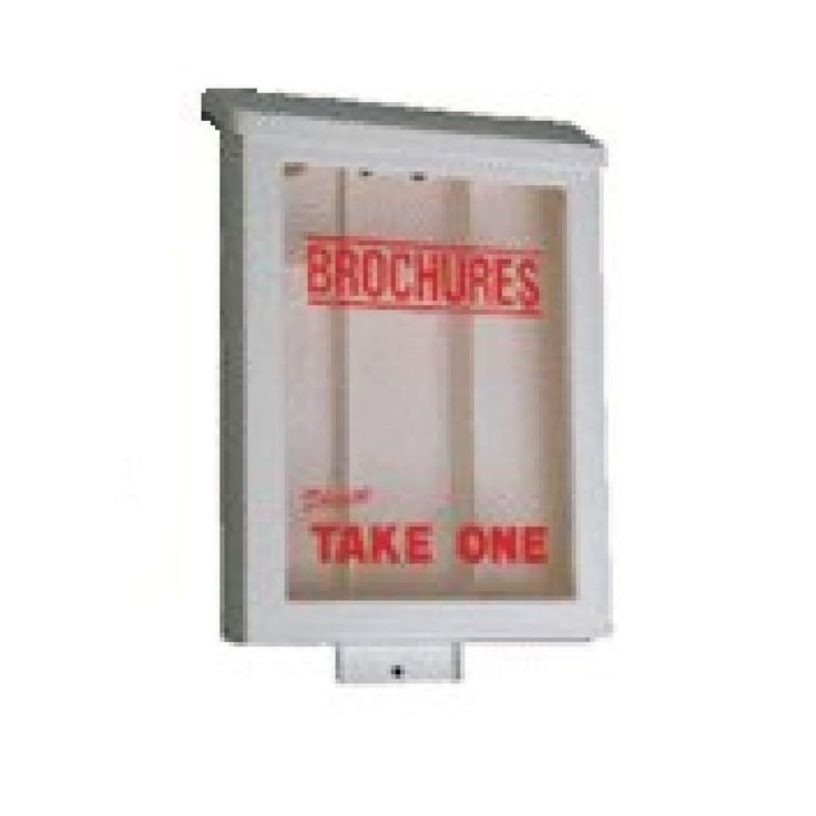 how to make a brochure holder