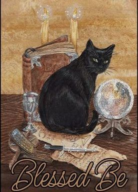 Magick Wicca Witch Witchcraft: #Black #Cat. - Pinned by The Mystic's Emporium on Etsy