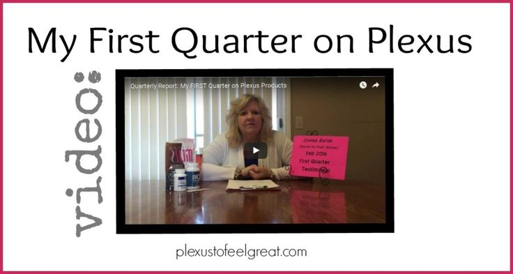 [Video] My First Quarter on Plexus