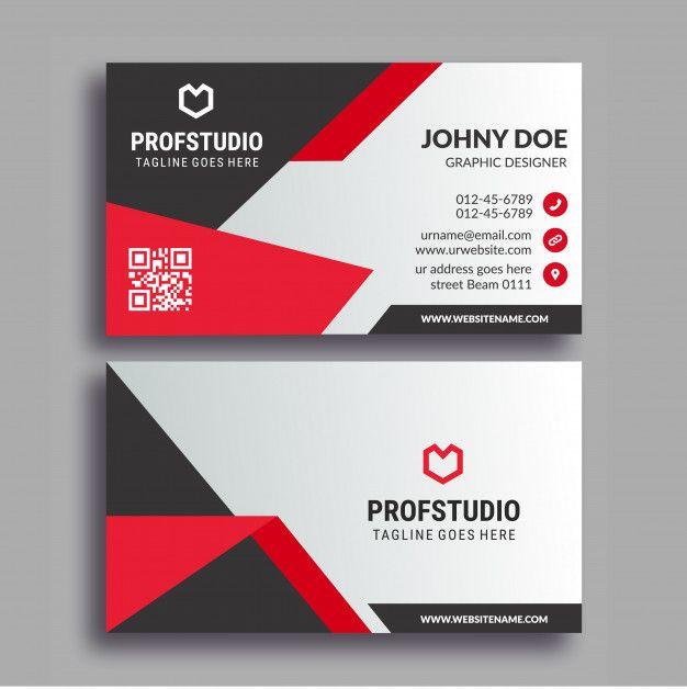 Carte De Visite Business Card Design Cards Banner Vector Free Visit
