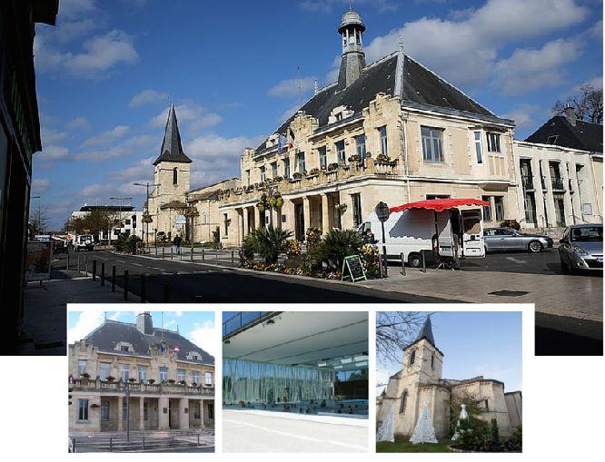 """Saint-Médard-en-Jalles : une ville qui bouge ....  A seulement 13 kms de Bordeaux, Saint-Médard-en-Jalles est une commune particulièrement grande et recouverte de forêts, seule la moitié a été urbanisée. Un lotissement de 4 maisons à Saint-Médard-en-Jalles. Cette commune est la plus étendue de Bordeaux Métropole, d'où une densité de population relativement faible, ce qui en fait une """"ville espace"""". la moitié du territoire est en effet constituée de zones rurales."""