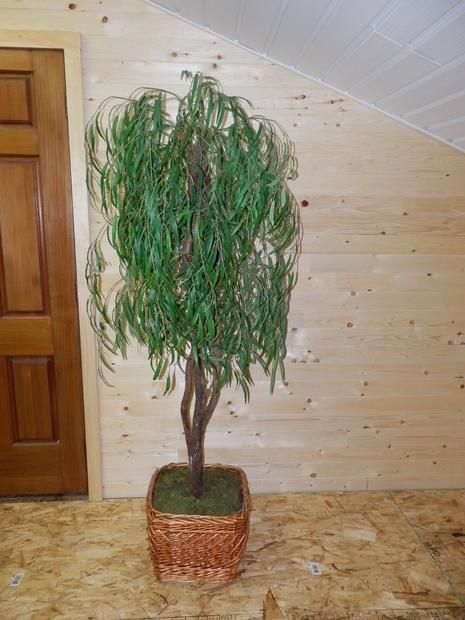 6' +  Artifical Willow Tree