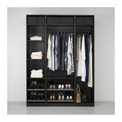 PAX Armoire-penderie - 175x58x236 cm - IKEA