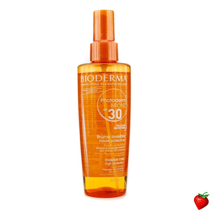 Bioderma Photoderm Bronz Invisible High Protection Spray SPF30 (For Sensitive Skin) 200ml/6.7oz #Bioderma #Skincare #Sunscreen #SummerSpecials #Summer #Beach #Beauty #HotPick #FREEShipping #StrawberryNET