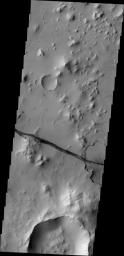 Cerberus Fossae Fracture, a crack in the surface of Mars, indicating tremendous tectonic stress. (seriously, click through to the source, then on the image for a larger version, to get a better sense of the scale) NASA/JPL/ASUIndice Tremendous, Cerberus Fossa, Better Sense, Sky, Larger Version, Tectonics Stress, Fossa Fractured, Tremendous Tectonics, Outer Spaces