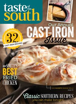 Taste of the South Free Trial IssueIron Cooking, Cast Iron Issues, Things Southern, South Magazines, Cast Iron Recipes, Food Cast Iron, Castiron, Annual Cast Iron, Magazines Shared