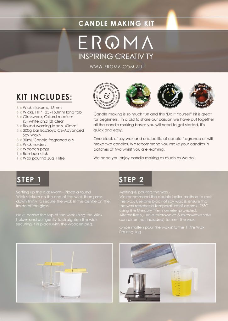 Candle Making Kit With Images Candle Making Kit Candle Making