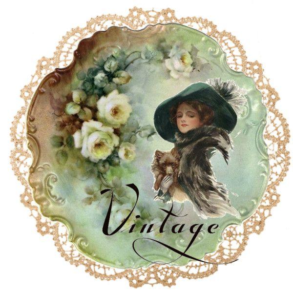 """Vintage"" by sandys7118 on Polyvore"