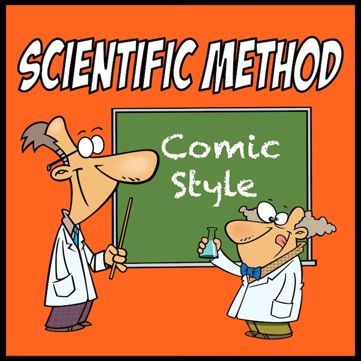 Scientific Method interactive notebook comic and presentation. Engage your students with this unique comic based resource. Funny whacky scientists will help make this a lesson to be remembered and inject humor into science!