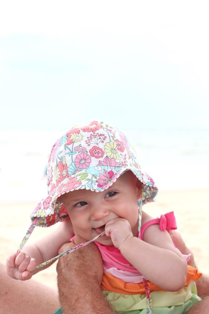baby beach photo ideas