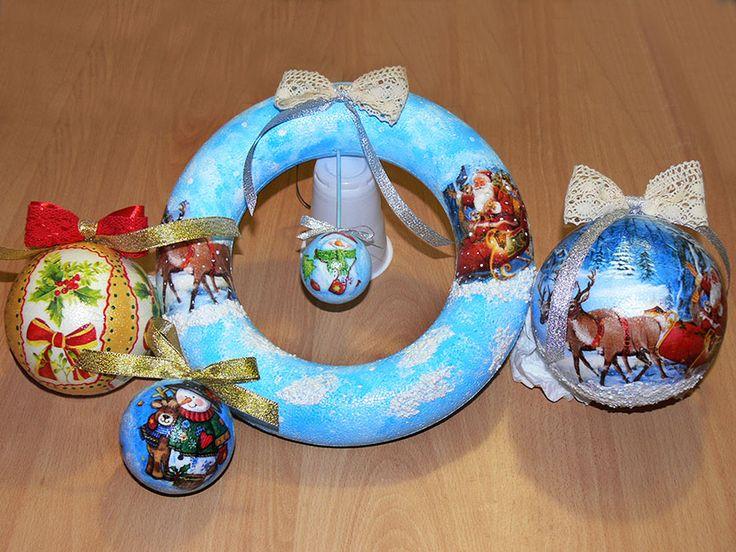 Decoratiuni de Craciun - DECO CARAFT®. Curs de Tehnica servetelului, coordonat de Maria Paun. Servetele de Iarna si de Craciun si Anul nou: http://www.decocraft.ro/en/servetele-de-iarna http://www.decocraft.ro/en/servetele-craciun-anul-nou