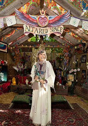 """Nicki Scully at Oregon County fair - """"Altared  Space"""""""