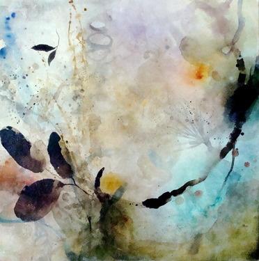 "Deedra Ludwig; Painting, ""Flatlands"""