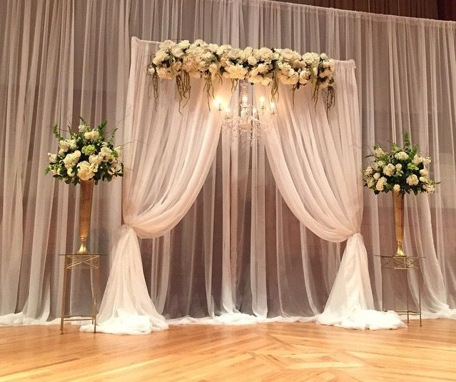 Wedding Altar Curtains: 253 Best Images About Altar Decor On Pinterest