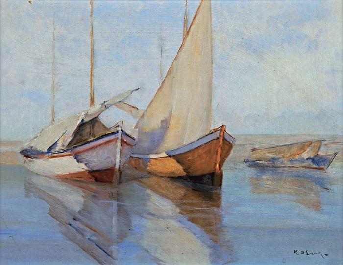 Ο Γεώργιος Δ. Κοσμαδόπουλος (Βόλος, 1895 – Αθήνα (;), 1967) ήταν έλληνας ιμπρεσιονιστής ζωγράφος. Ψαρόβαρκες