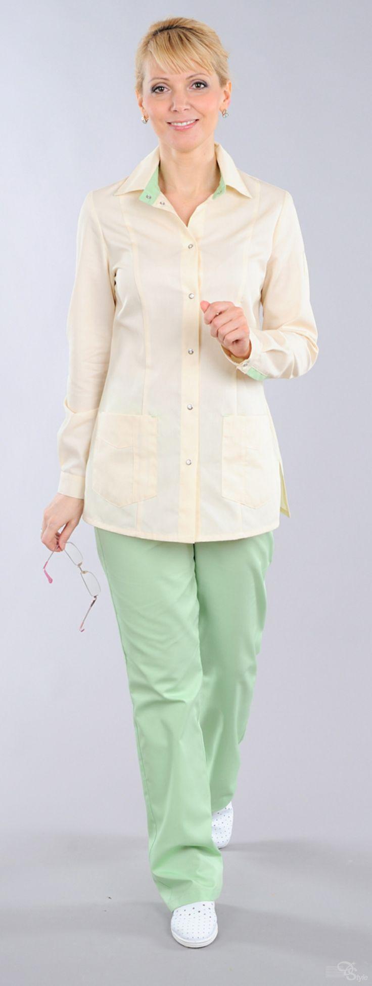 Блуза медицинская женская «Николь»