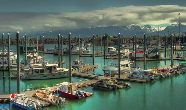 Homer, Alaska fishing for Halibut here is amazing.